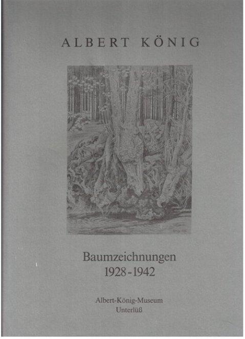 Baumzeichnungen von Albert König